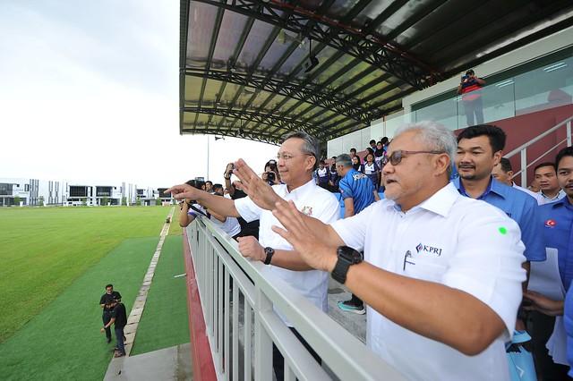 Fasiliti Berkelas Dunia, Johor Bersedia