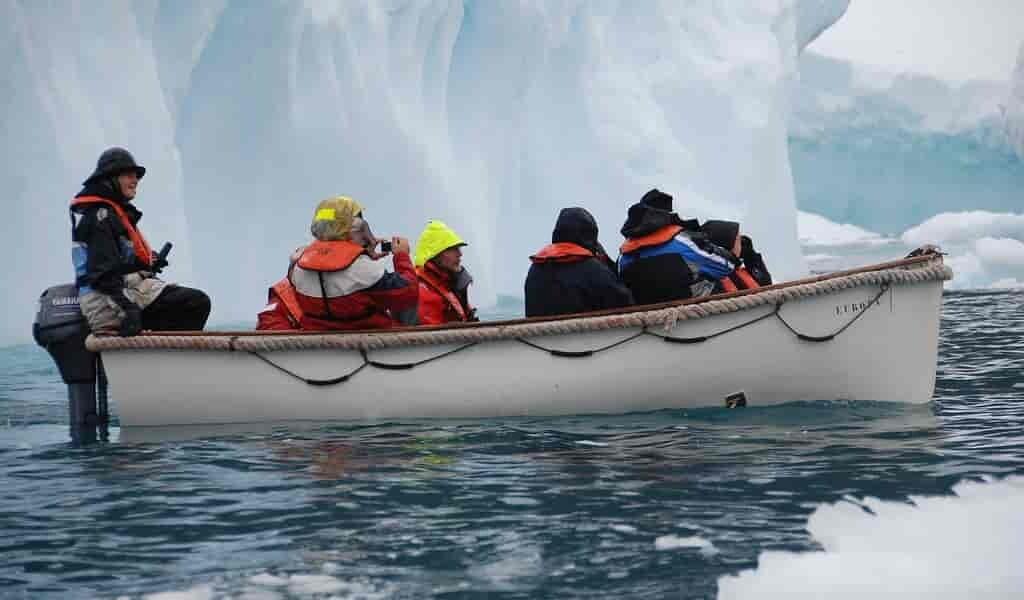 Moins d'un tiers de l'Antarctique reste intact par l'homme