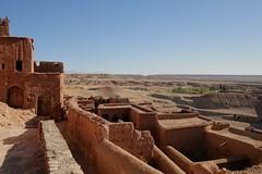 View from Aït Benhaddou, Morocco