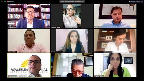 COMISIÓN DE SALUD VIRTUAL. ECUADOR, 15 DEJULIO 2020.
