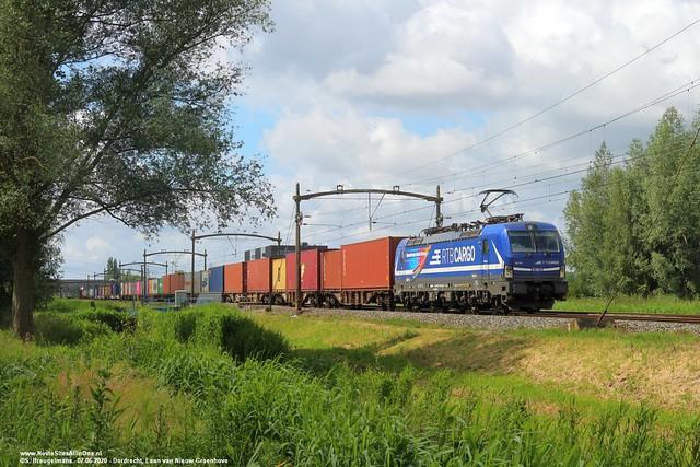 RTB Cargo 193 791 - Dordrecht 07-06-2020.