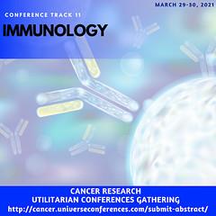 Track 11 Immunology(cancer.universeconferences.com)