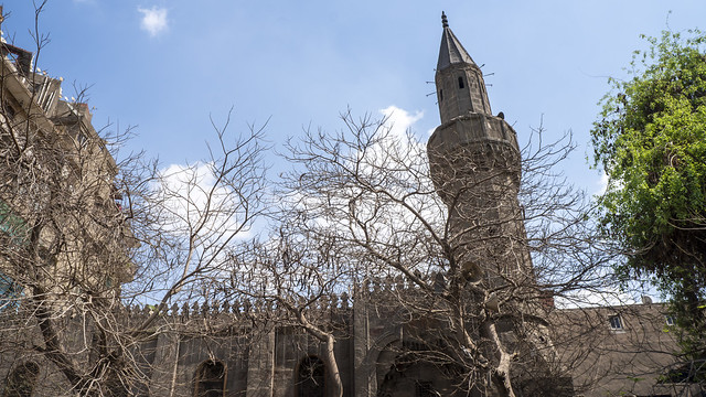 Prince Mangak Al-Yusufi Mosque in Islamic Cairo of Egypt