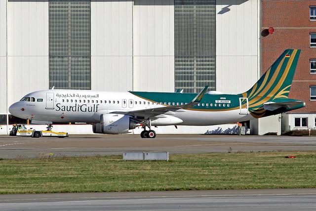 SaudiGulf Airlines Airbus A320-251N D-AUAM (VP-CGB)