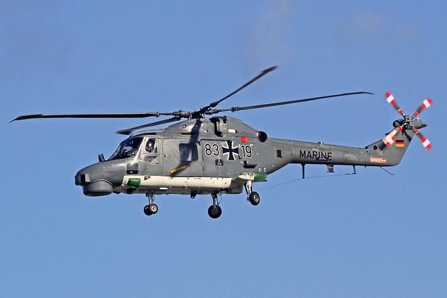 German Navy (Marine) Westland WG-13 Super Lynx Mk88A 83+19 XFW 11-03-20