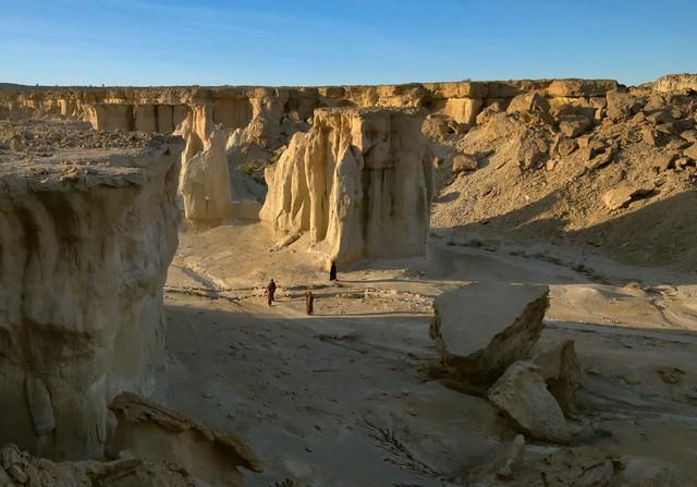 Stars Valley canyon in Qeshm island, Strait of Hormuz, Iran