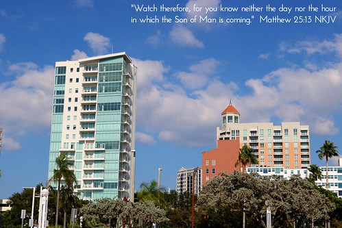 sarasota sarasotacounty downtown skyscrapers skyscraper architecture businessdistrict city urban buildings palms palmtrees trees condo condominium towers sky skyline landscape florida fl fla sunshinestate gulfcoast sarasotabayfrontpark park flickr travel us usa unitedstates america jesus christ god lord bible scripture verse