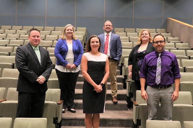 MLA Class 4 Presents Capstones to Governor