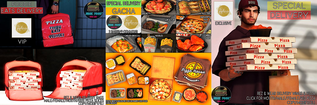 Junk Food - Special Delivery Gacha Vip Exclusives