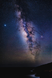 Milky Way at Lanai Lookout, Oahu