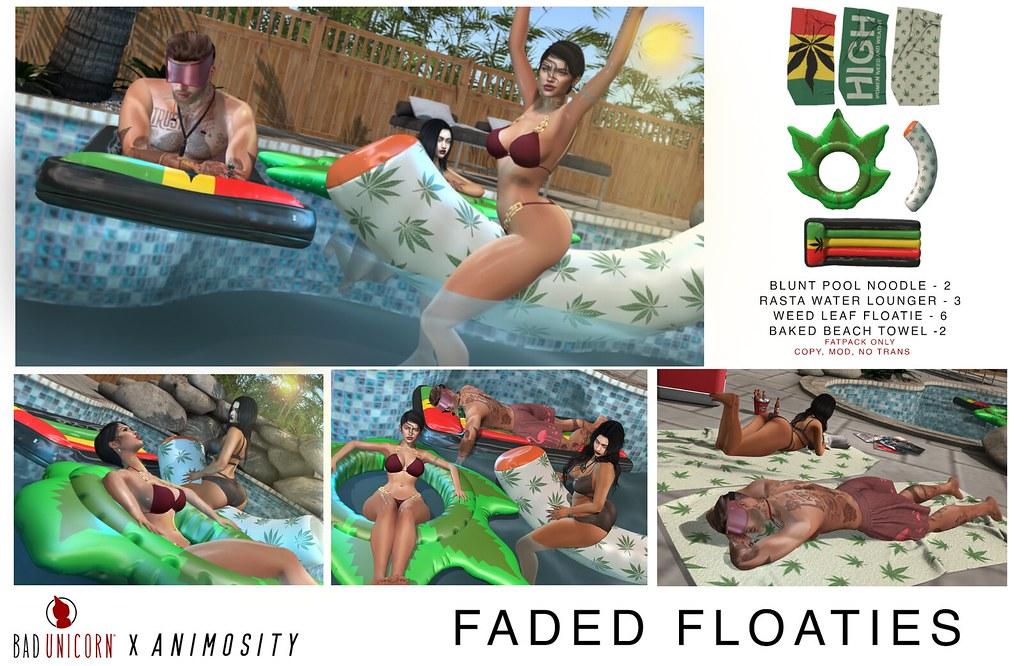 NEW! Faded Floaties @ KUSTOM9