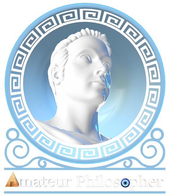 Amateur Philosopher Greek Key Logo