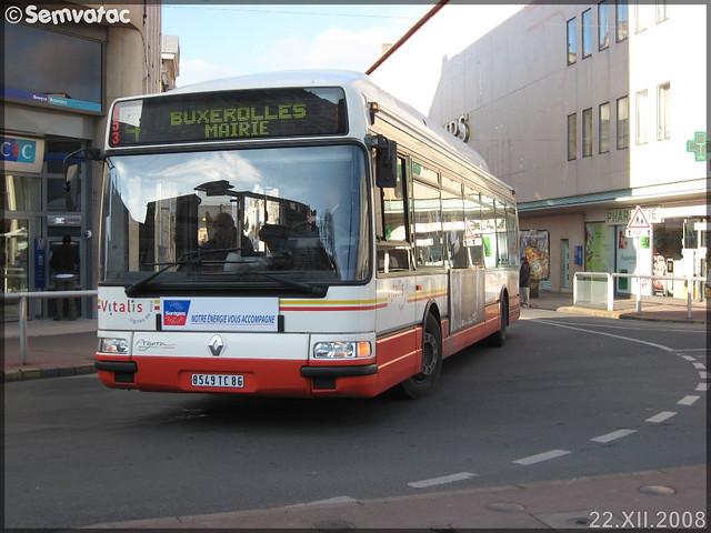 Renault Agora S GNV – RTP (Régie des Transports Poitevins) / Vitalis n°453