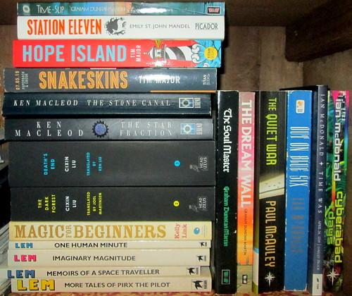 Large Paperback Science Fiction