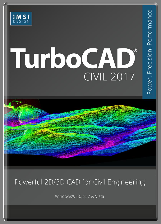 IMSI TurboCAD Civil 2017 v24.0.663 x86 x64 full