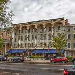 Saratoga  Springs - New York - The Adelphi Hotel - 1877 - Historical
