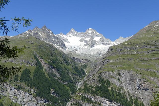 Unter & Ober Gabelhorn Wellenkuppe Zermatt Switzerland