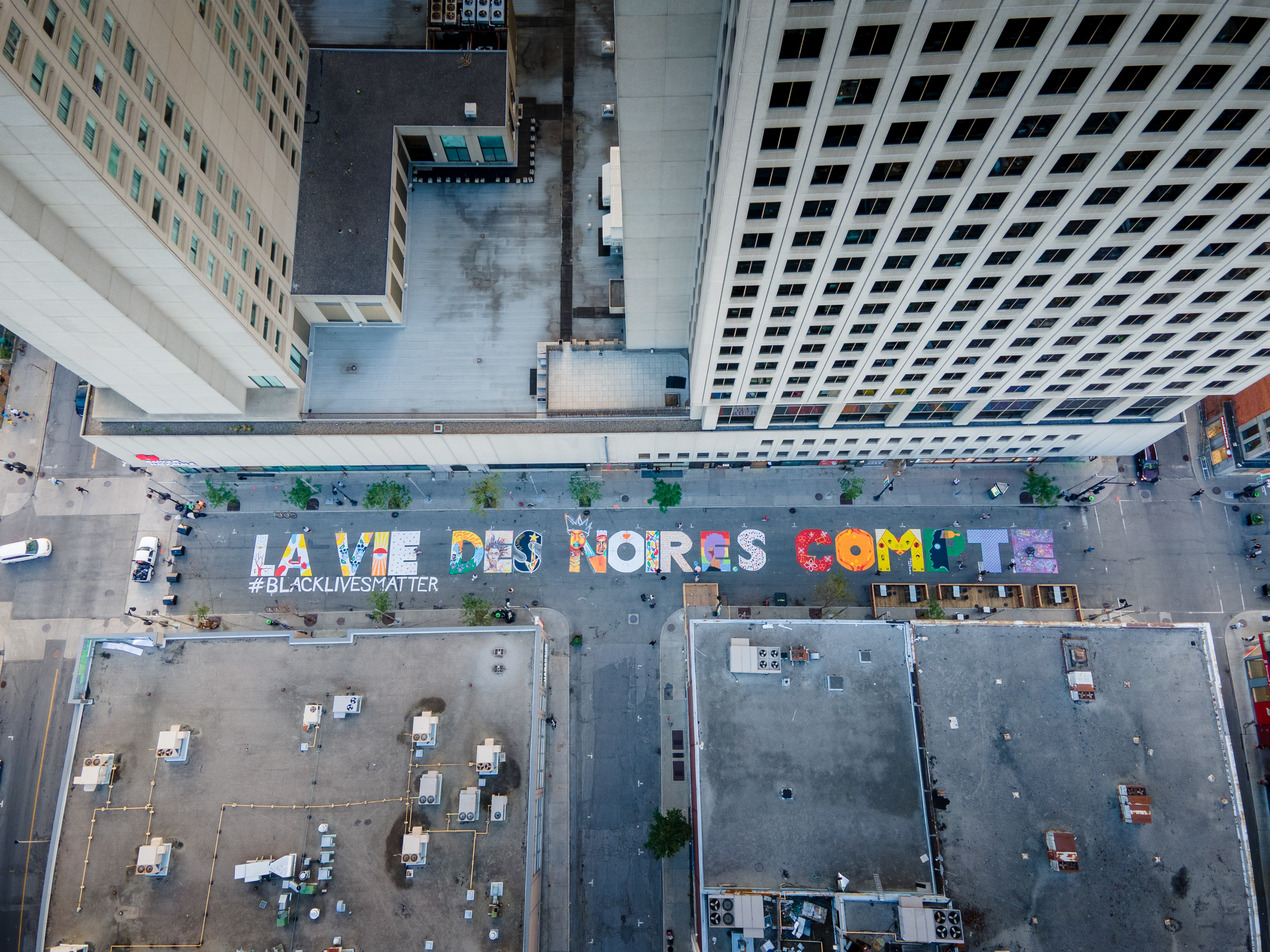#BlackLivesMatter in Montreal