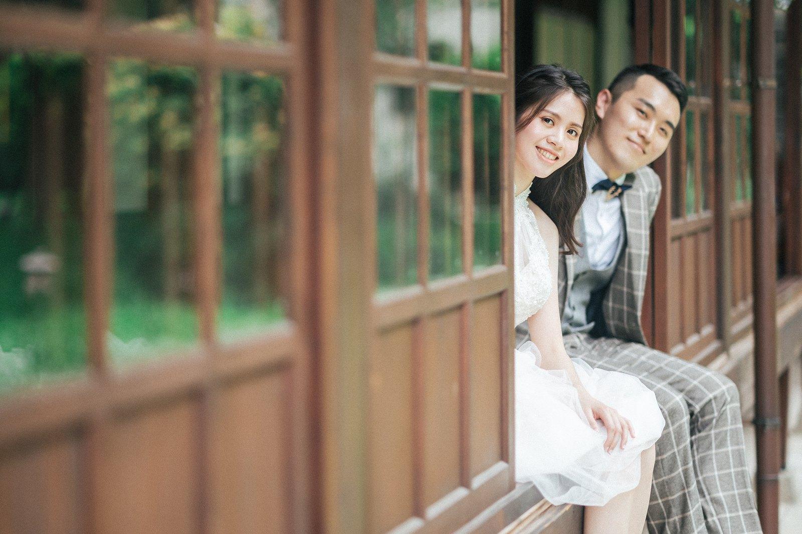【婚紗】Ming & Weiting / 婚紗意象 / 紀州庵文學森林