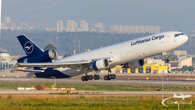 TLV - Lufthansa Cargo MD-11 Freighter D-ALCA