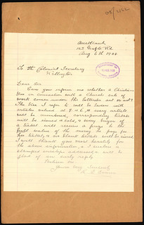 enquiry about a Christmas tree | by Archives New Zealand