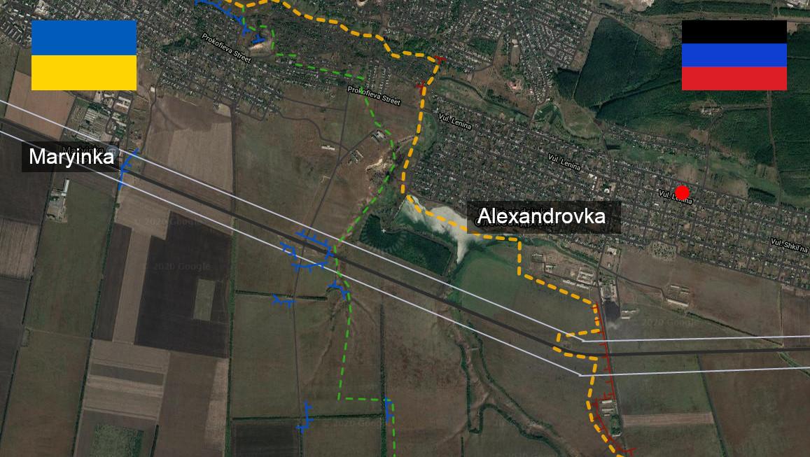Carte d'Alexandrovka