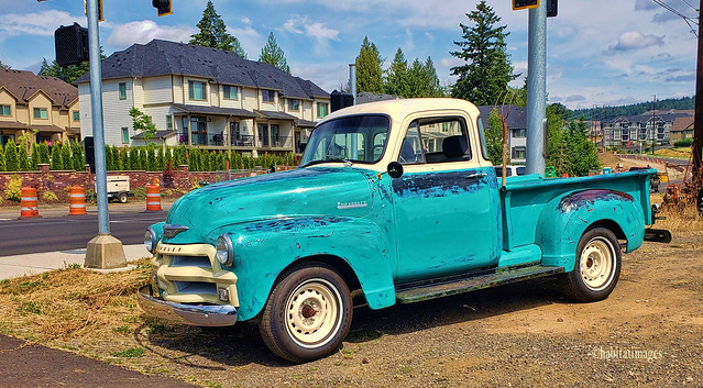Turquoise Chevy