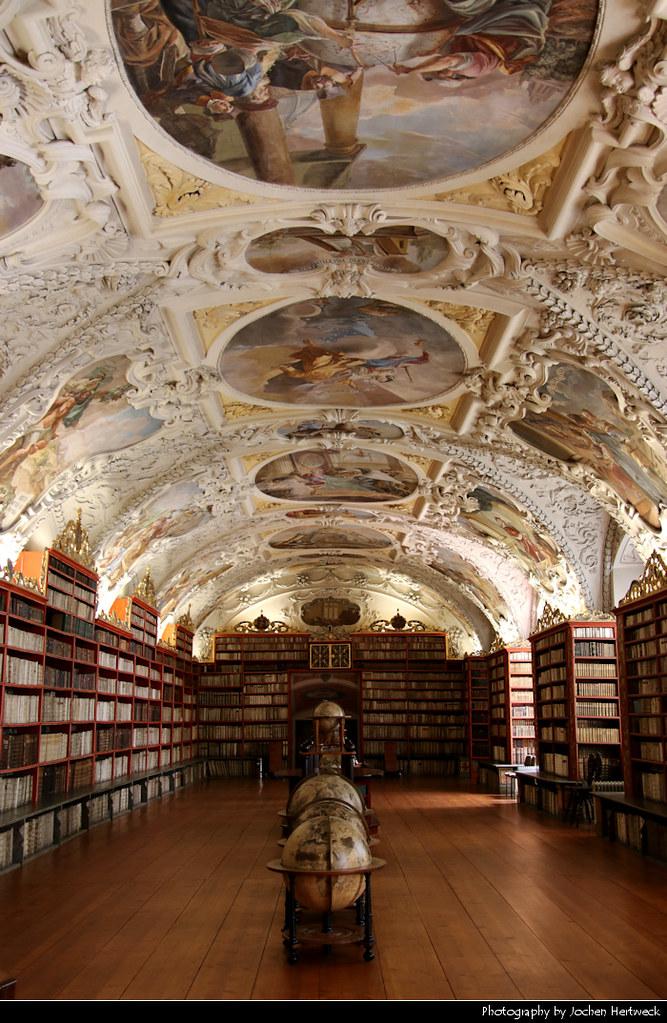 The Theological Hall, Strahov Monastery Library, Prague, Czech Republic