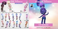 SEmotion Libellune Pixie Girl Animesh