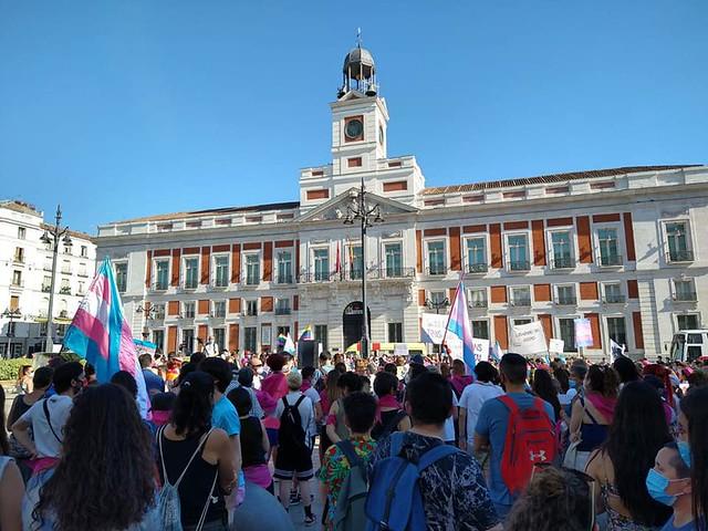 Concentración LGTBI Puerta del Sol