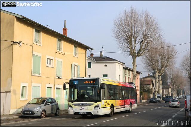 Iveco Bus Urbanway 12 – Vienne Mobilités (RATP Dev) / L'va (Lignes de Vienne Agglomération) n°81