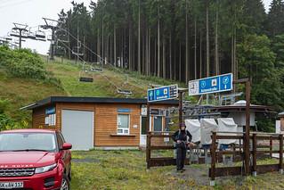 Wanderweg in Winterberg