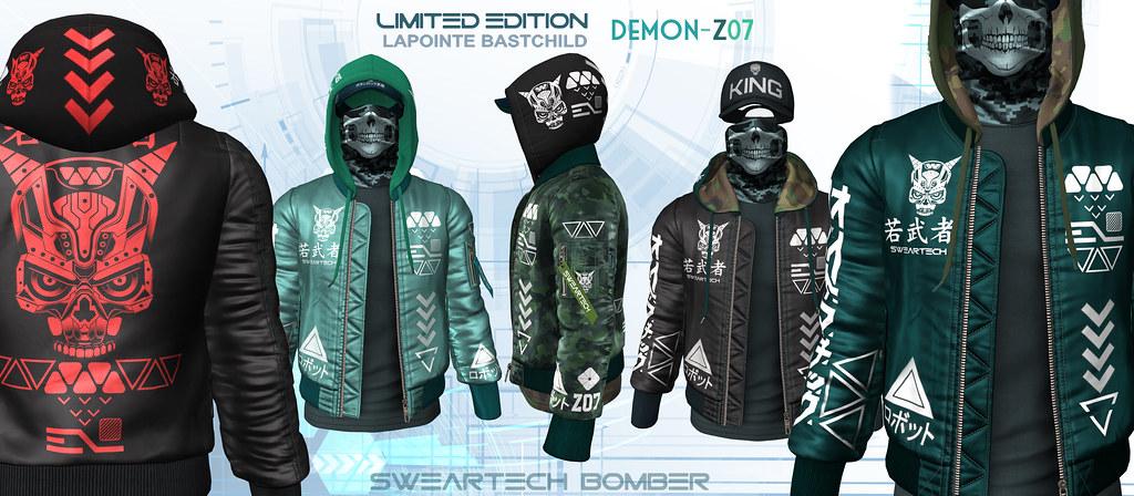 L&B LIMITED @ Man Cave July – SwearTECH Demon Z07