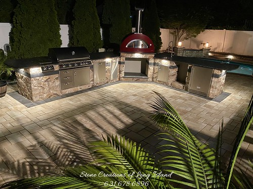 Outdoor Kitchen, Kings Park, NY 11754 | by Stone Creations of Long Island Pavers and Masonry