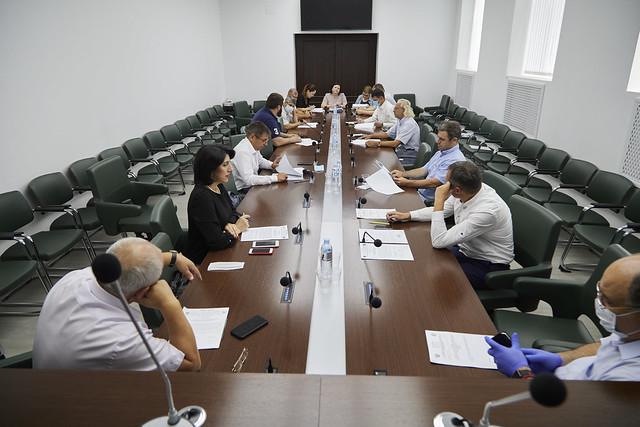Zasedanie comissii po biudjetu