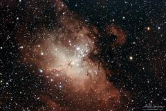 A test of the Eagle Nebula from Sydney