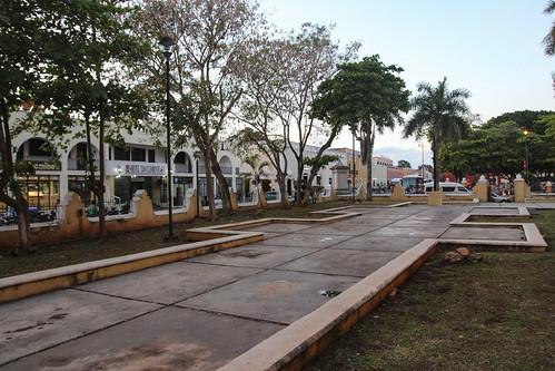 Plaza of a Thousand Columns, Chichen Itza, Mexico's Yucatán Peninsula