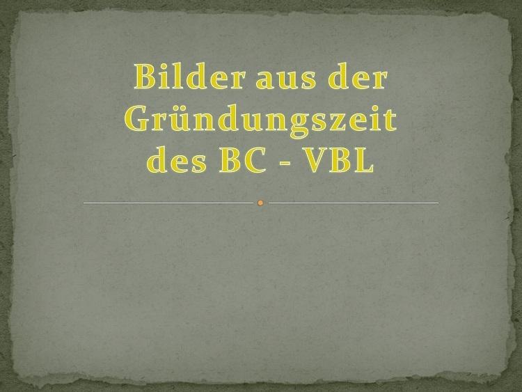 VBL-Geschichte 1958-2009