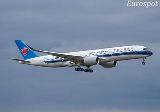 F-WZFS Airbus A350 China Southern