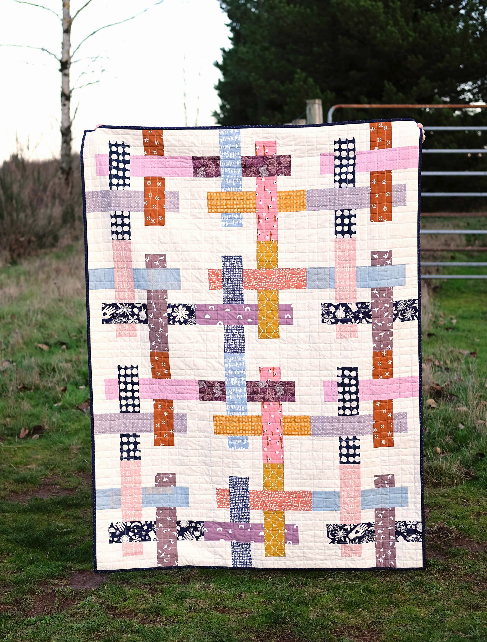 An Ella Quilt From My Stash - Kitchen Table Quilting