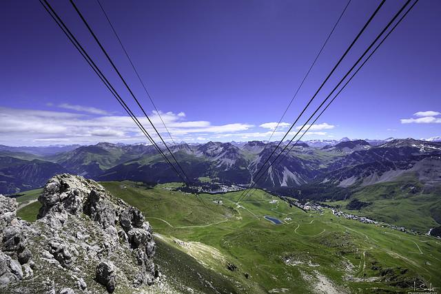 Mountain view from Weisshorn - Arosa - Graubünden - Switzerland