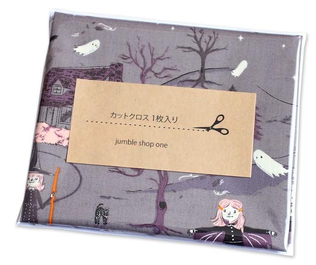 カットクロス Art Gallery Fabrics Spooky'n Sweet Peppermint's Tale Nightfall