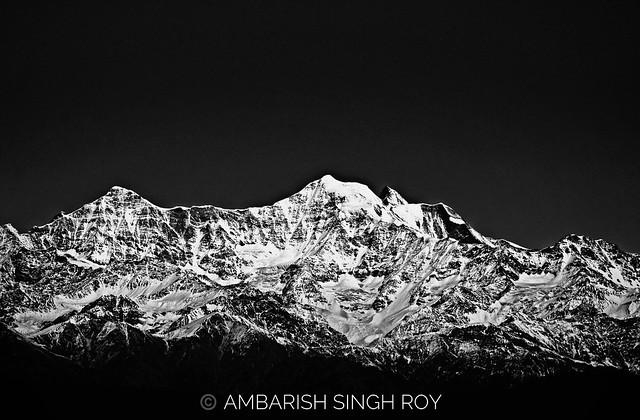 Mt. Kunchendzonga from Sikkim II