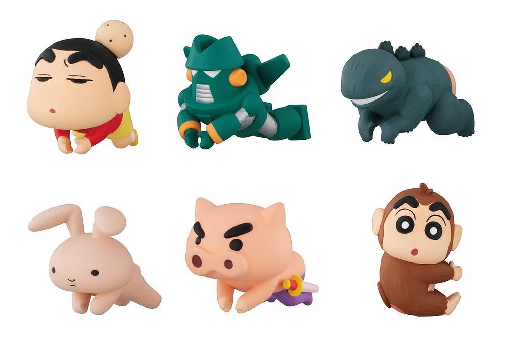 小新的經典玩具到齊啦~GASHAPON《蠟筆小新》Hugcot系列 第三彈「蠟筆小新 充電線保護套3」轉蛋(ハグコット クレヨンしんちゃん3)全六款