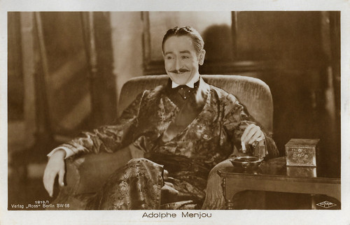 Adolphe Menjou in The Sorrows of Satan (1926)