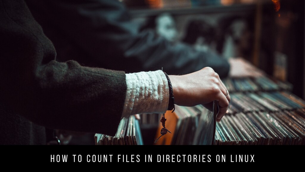 How to Count Files in Directories on Linux