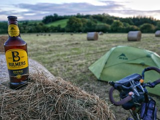Field camp with Bulmers. | by Peter Gostelow