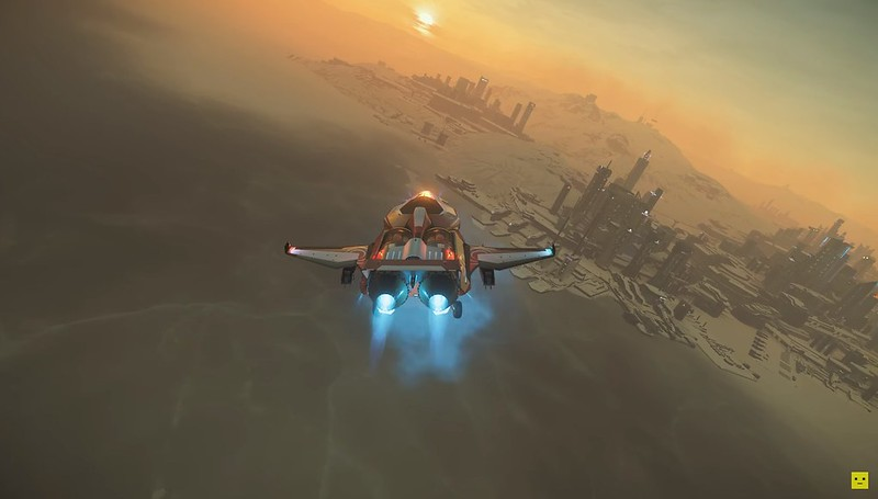 Star Citizen - Flugmodell