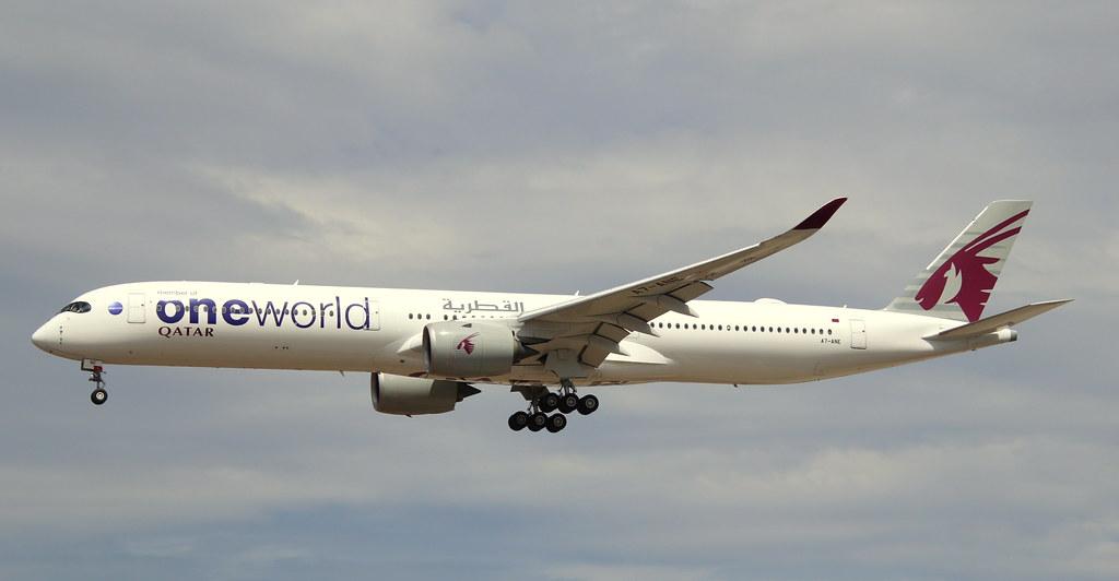 Qatar Airways, A7-ANE, MSN 141, Airbus A 350-1041, 04.07.2020, FRA-EDDF, Frankfurt
