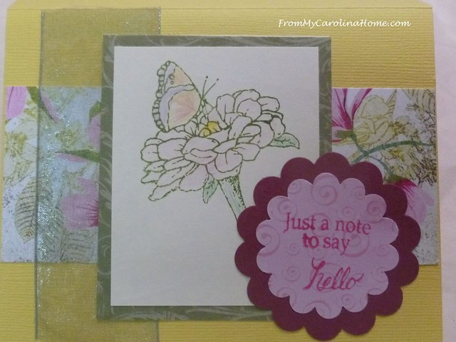 Summer Flowers Cards at FromMyCarolinaHome.com